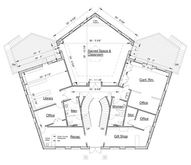 Pentagon shaped house plans 28 images pentagon shaped for Pentagon shaped house plans
